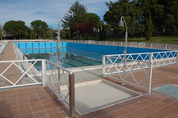 Piscina foresta tres cantos cheap en la piscina del for Piscina foresta tres cantos