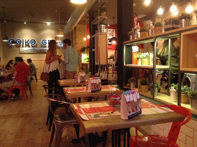 Goiko grill inaugura nuevo local en la calle prado 15 de for Restaurante calle prado 15 madrid