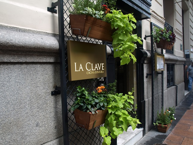 Restaurante LA CLAVE, Madrid